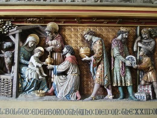 Épiphanie, abbaye waltham