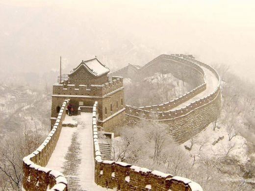 Puzzle Muraille De Chine En Hiver