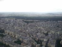 Tour Eiffel : Vue Ouest