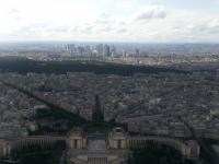 Tour Eiffel : Vue Nord-Ouest