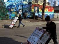 Van Gogh & livreurs
