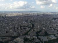 Tour Eiffel : Vue Nord