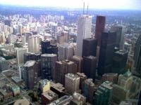 Vue de la tour CN