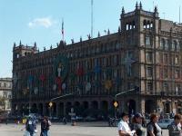 Mexico, palais du gouvernement