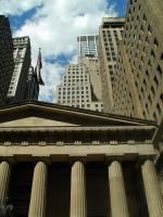 Vue sur Wall Street