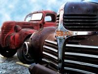 Camions rouillés