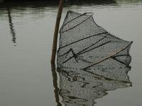 Nasse dans le lac Nokoué