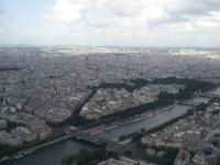 Tour Eiffel : Vue Nord-Est