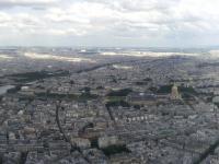 Tour Eiffel : Vue Est