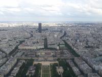 Tour Eiffel : Vue Sud-Est