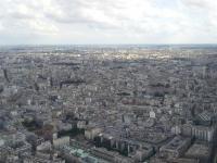 Tour Eiffel : Vue Sud