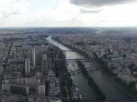 Tour Eiffel : Vue Sud-Ouest