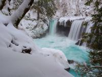 Torrent en neige