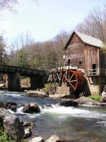 Glade Creek Grist Mill square
