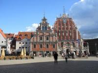 Riga, Lituanie : Hôtel de ville
