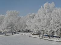 Neige en Russie