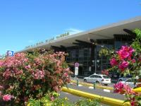 Arrivée aéroport Roland Garros