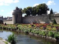 Vannes Remparts et jardins