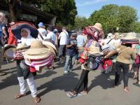 Marchandes de chapeaux à Java