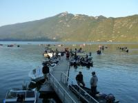 Compète pêche lac du Bourget