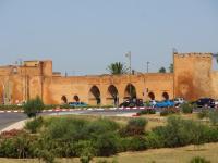 Rabat, Maroc : Les 3 portes