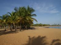 Plage en Guyane