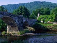 Pont en arc Pays de Galles