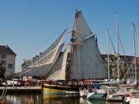 Bateaux port de Caen