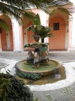 Fontaine à Rome