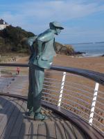 Saint-Marc, statue M. Hulot