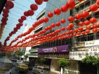 Une rue à Bangkok