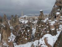 Cappadoce enneigée