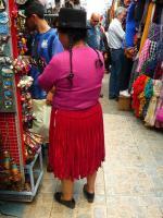Sur le marché à Quito