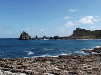 Guadeloupe, Pointe des châteaux