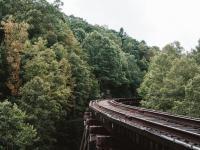 Chemin de fer impressionnant